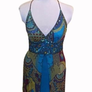 Sue Wong Silk dress